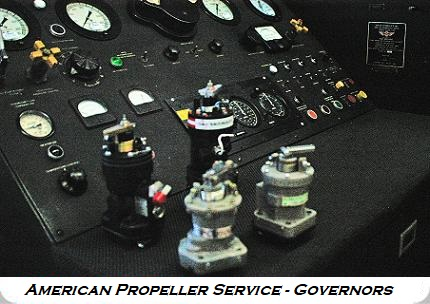 Aircraft and Airplane Governors from Ameritech Aviation
