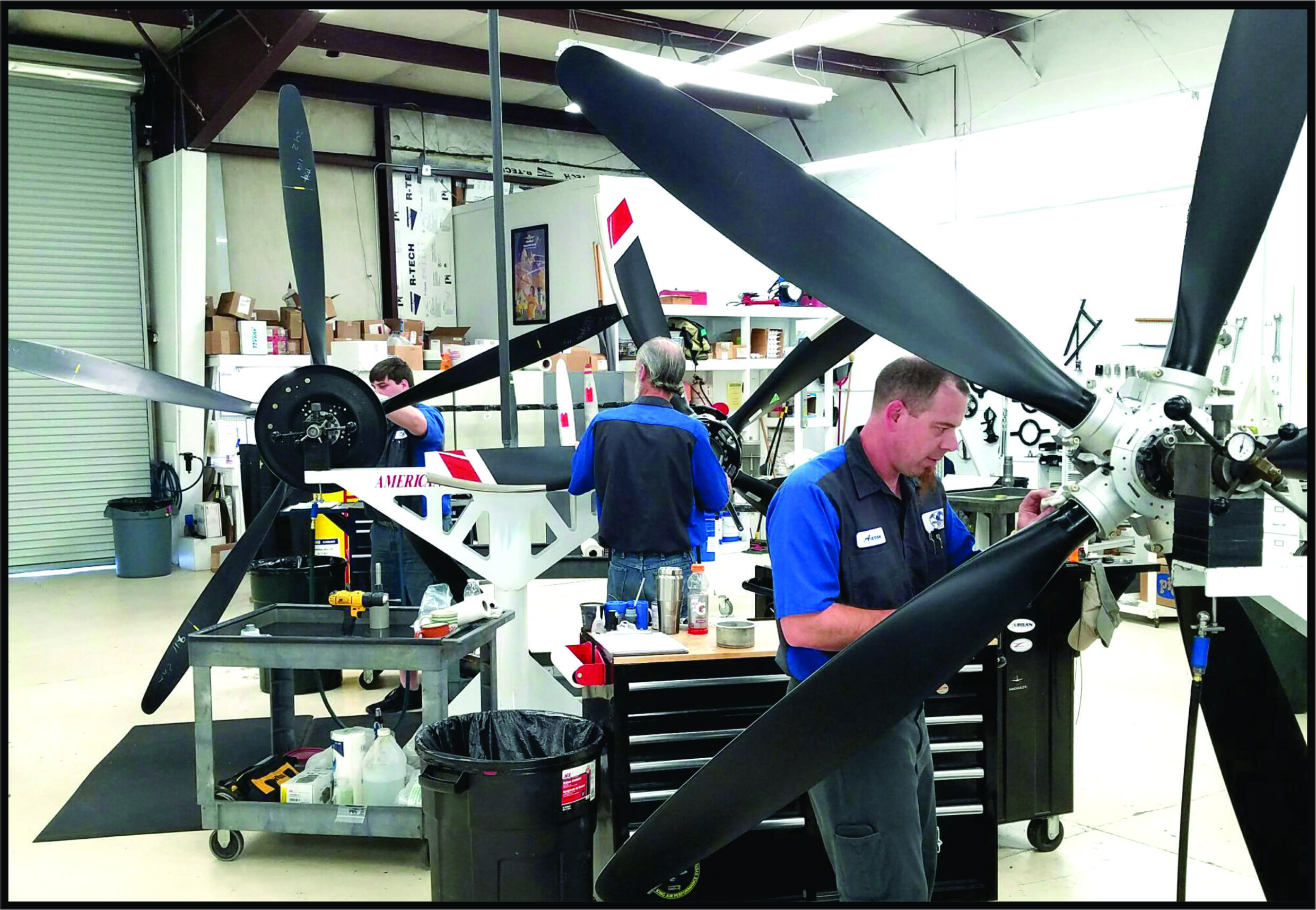 Aircraft Propeller Overhaul Shop, Service, Sales, and